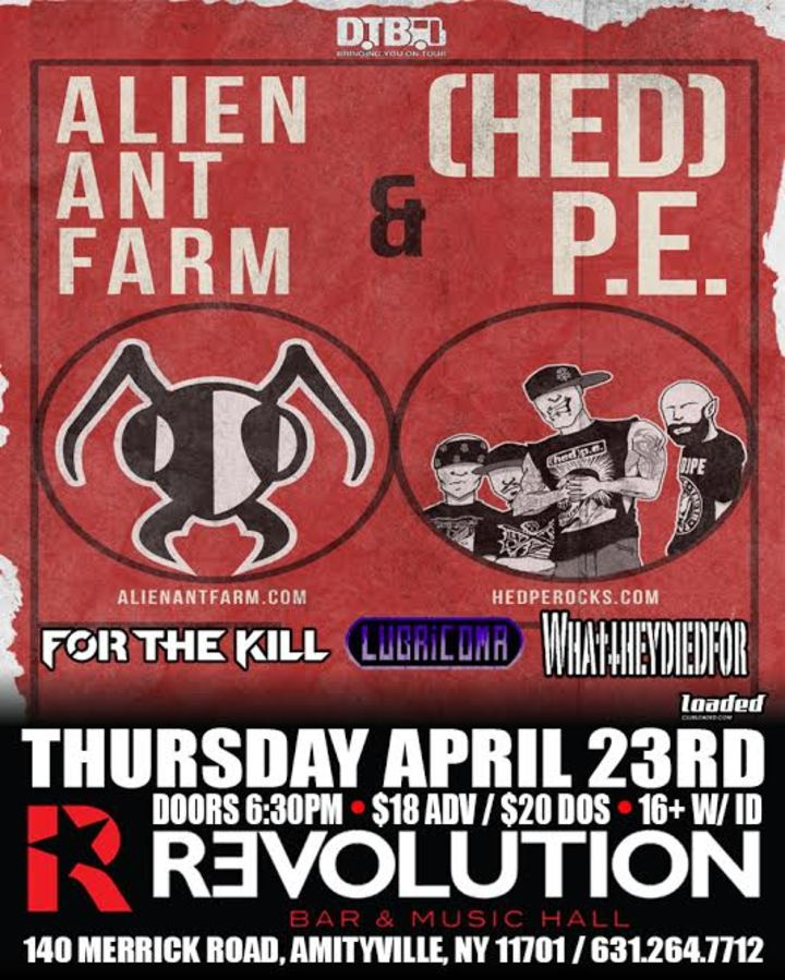 4/23/2015: Live @ Revolution w/Alien Ant Farm