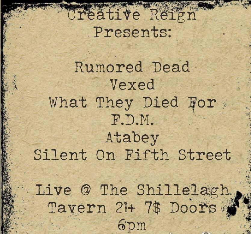 8/7/2013: WTDF LIVE @ The Shillelagh Tavern 8/25/2013